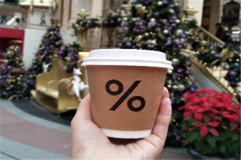百分比咖啡加盟