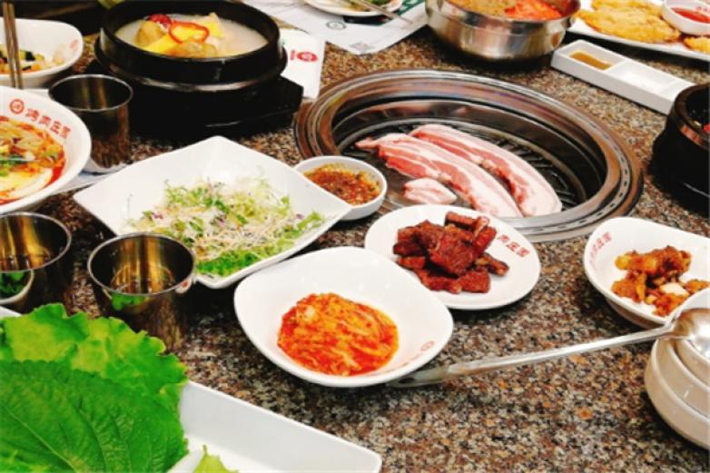 韓香福烤肉莊園加盟