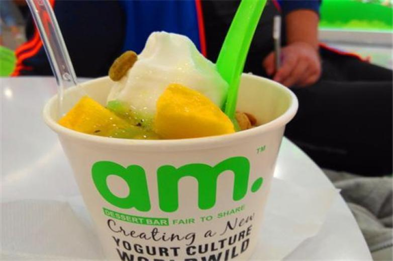 am酸奶冰淇淋加盟