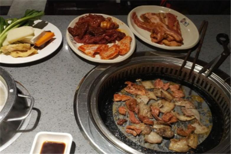 江源道韩式自助烧烤加盟