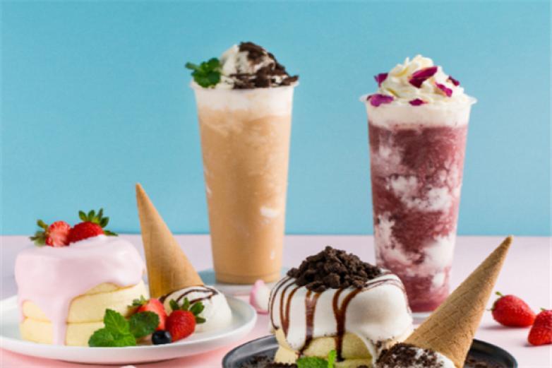 咔淇淋潮人饮品加盟